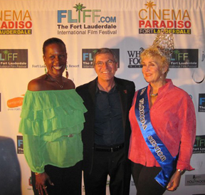 PAMELA                             PORTIER AND GREG VON HAUSCH WITH MS FLORIDA                             SENIOR